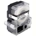 EPSON cassette LC-7WBC9 (LC7WBC9) ruban Enroulé pour Câble Noir sur Blanc 36mmx9m C53S628405