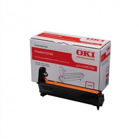 OKI 43381706  -Tambour magenta de marque OKI 43381706