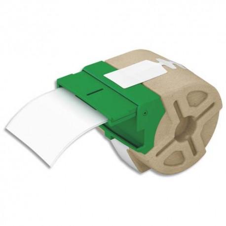 LEITZ 70040001 - Cartouche ruban d'étiquettes continues en papier adhésif permanent 61mmx22m Blanc 70040001