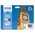 T7032 (T703240) EPSON Cartouche Jet d'encre cyan de marque Epson C13T703240