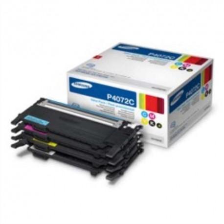 SAMSUNG CLT-P4072C (P4072C) Cartouche toner pack 4 couleurs de marque Samsung -CLT-P4072C