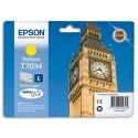 T7034 (T703440) EPSON Cartouche Jet d'encre jaune de marque Epson C13T703440
