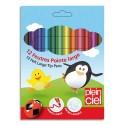 Feutre de coloriage Plein Ciel pointe large pochette de 12 feutres dessin coloris assortis