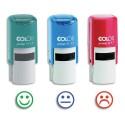 COLOP Tampon trio R17 3 couleurs d'encrage