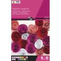 CLAIREFONTAINE Bloc de 30 feuilles de papier couleur 130g format A4 assorties