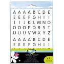 MAILDOR 320 gommettes thème alphabet