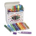 Colle pailletée Artline de 10 ml couleurs vives assorties baril de 50