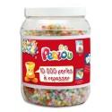 DTM Bocal de 10 000 perles à repasser assorties Perlou