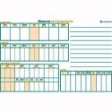LFC Tableau mesure et conversion 120 x 80 cm - Polypro 5/10è effaçable à sec format 80 x 120 cm