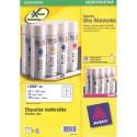 Etiquette AVERY L7992 - Pochette de 250 étiquettes d'expédition ultra résistante blanches 99.1x57mm L7992-25