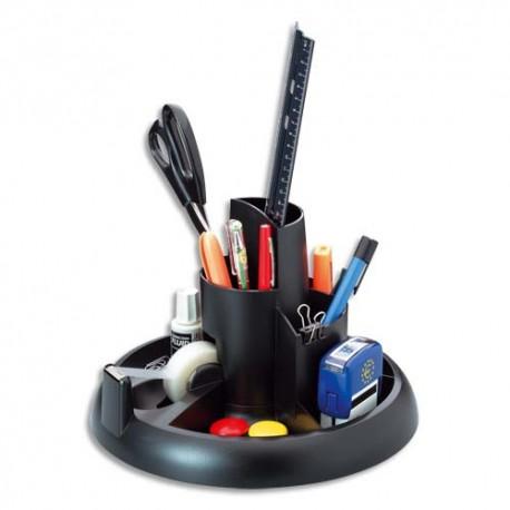 ROLODEX Pot à crayons multifonctions coloris noir