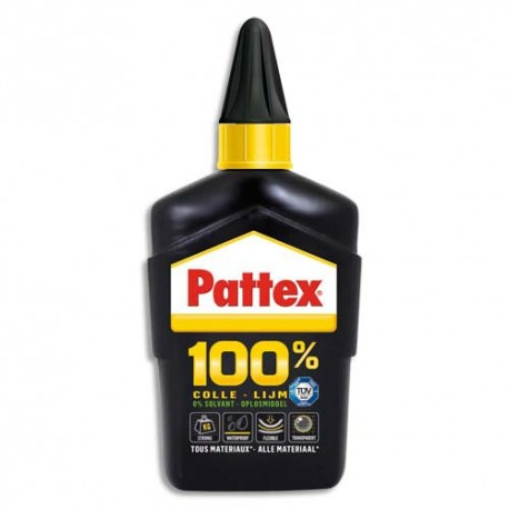 PATTEX Flacon de 100g de colle 100% multi-usages
