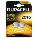 DURACELL Blister de 2 piles 2016 Lithium Duralock pour appareils électroniques