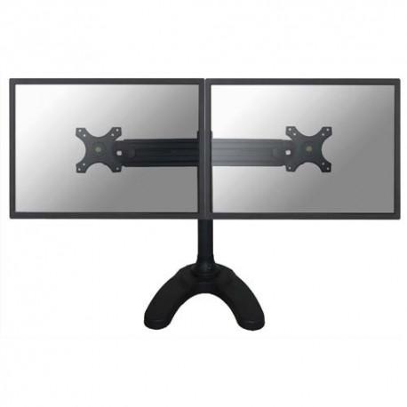 NEWSTAR Support écran plat noir pied à visser pour 2 écran plats plats de 19-30'', 16Kg max FPMA-D700DD