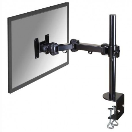NEWSTAR Support écran plat noir à pince pour 2 écran plats plats jusqu'à 10-30'', 10Kg FPMA-D960
