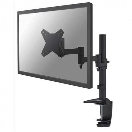 NEWSTAR Support écran plat noir à pince pour 2 écran plats plats jusqu'à 10-30'', 9Kg FPMA-D1330BLACK