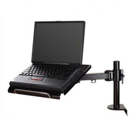 NEWSTAR Support/bras à pince pour ordi portable, réglage de 0 à 27cm, jusqu'à 10-22'' NOTEBOOK-D100