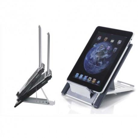 NEWSTAR Support pour Tablette ou ordi portable à poser sur le bureau, 10-22'', 5kg max NSLS100