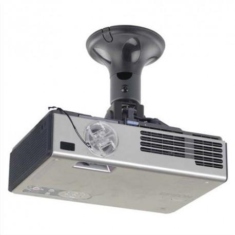 NEWSTAR Support vidéo projecteur pour fixation au plafond, hauteur 18,5cm, 10kg max BEAMER-C50