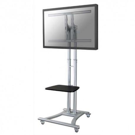 NEWSTAR Support mobile roulette écran plat 27-70''+ tablette, réglable 180cm max, 50Kg max PLASMA-M1800E