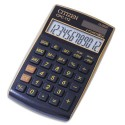 Calculatrice de poche Citizen CPC-112 coloris Noir/Or