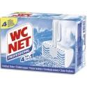 WC NET Boîte de 4 Blocs WC professionnel pour cuvettes parfum océan