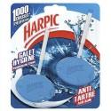 HARPIC Lot de 2 Blocs galet Antitartre pour cuvettes, jusqu'à 10 semaines
