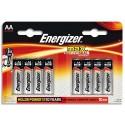 ENERGIZER blister de 8 piles aa LR06 max E300112400