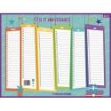 CBG Calendrier Anniversaire Format 32 x 42 cm