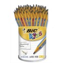 Porte-mine BIC KIDS BEGINNERS d'apprentissage.Mine 4 mm, corps rose ou bleu