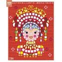 LITO DIFFUSION Bloc de 7 images et 1000 gommettes mosaïques, 21 x 26,5 cm, princesses
