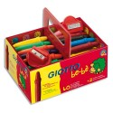Crayon à la cire Giotto bébé incassables + 2 tailles crayons schoolpack de 40