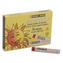 Pastel à l'huile OZI Cray-pass Junior Artist 8mm couleurs assorties boite de 12