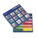 Feutre de coloriage Staedler Noris Club pointe moyenne Classpack carton 144 feutres dessin coloris assortis