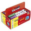 Feutre de coloriage Giotto Maxi Bébé pointe extra-large schoolpack de 36 feutres dessin couleurs assorties