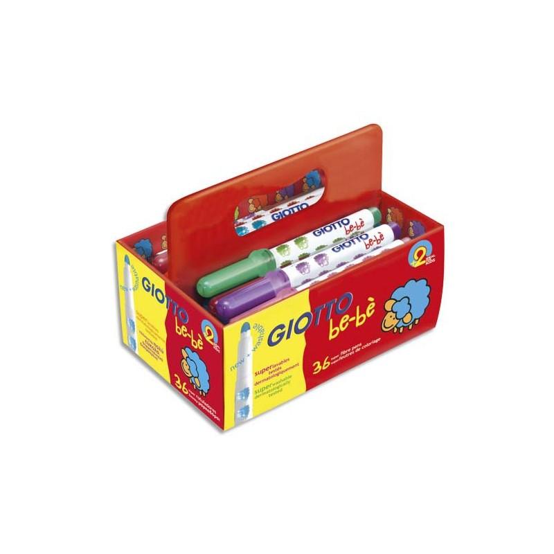 Feutre de coloriage giotto maxi b b pointe extra large schoolpack de 36 feutres dessin couleurs - Maxi coloriage ...