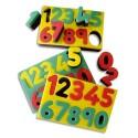 CULTURE CLUB Tampon en mousse double densité chiffres
