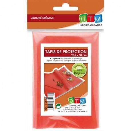 DTM Set de 1 tapis de protection format 39,5 x 30 cm + 1 spatule pour modelage