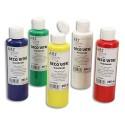 ART PLUS Coffret de 5 flacons de 250ml de peinture déco vitre