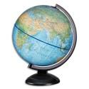 JPC Scanglobe - Globe en kit prêt à monter (avec notice de montage) lumineux sphère bleue 30cm