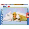 Boite puzzle de 100 pièces thème meilleur ami
