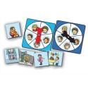 CULTURE CLUB Atelier d'activité basé sur la connaissance des 5 émotions, pour 1 à 4 joueurs de 3 à 7 ans