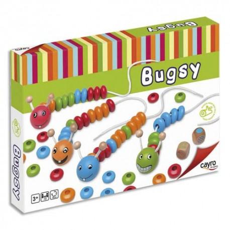 """CULTURE CLUB Les chenilles """" Bugsy """". Ce jeu développe l'apprentissage des couleurs et de l'arithmétique"""