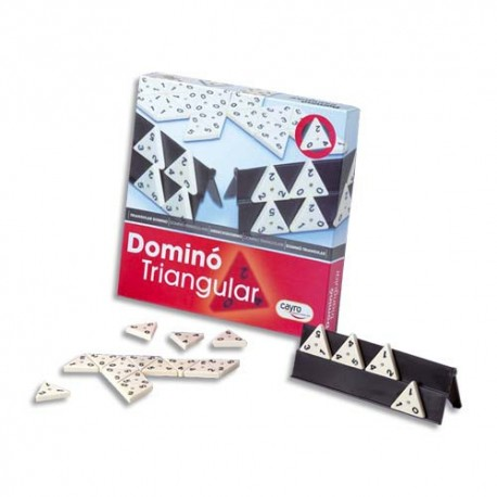 CULTURE CLUB Jeu des dominos triangulaires