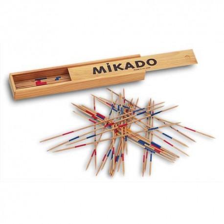 CULTURE CLUB Jeu du Mikado géant composé de 28 bâtonnets de longueur 30,5 cm en bois