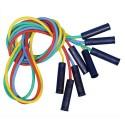 FIRST LOISIRS Lot de 4 cordes à sauter en plastique avec poignées, coloris assortis. Longueur 225 cm