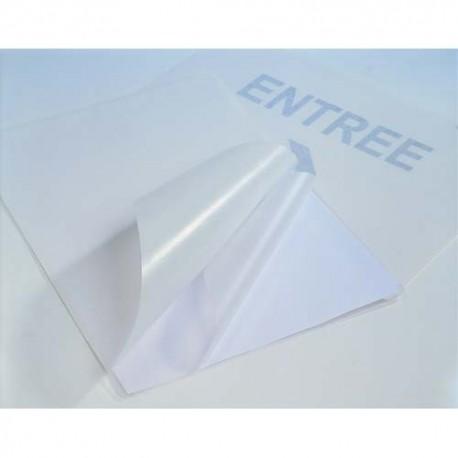 PAVO Paquet de 25 pochettes de plastification format A4 dos adhésif