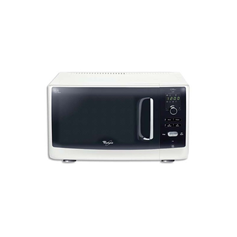 Whirlpool four micro ondes 900 watts easytronic blanc direct papeterie - Four micro onde blanc ...