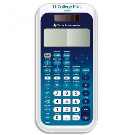 Calculatrice scientifique Texas Instruments ti college plus