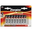 ENERGIZER blister de 12 piles aa LR06 max E300112600